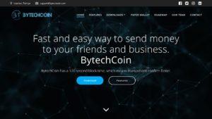 BytechCoin Web Sitesi